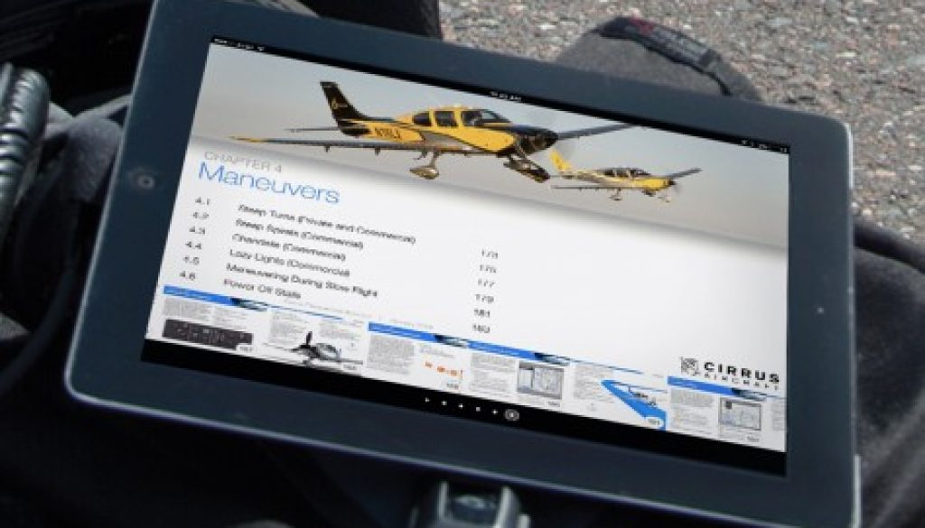 Cirrus Aircraft® Releases First Interactive Flight Operations Manual